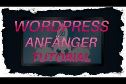 2# WordPress Backend Erklärung | Anfänger Tutorial | Deutsch