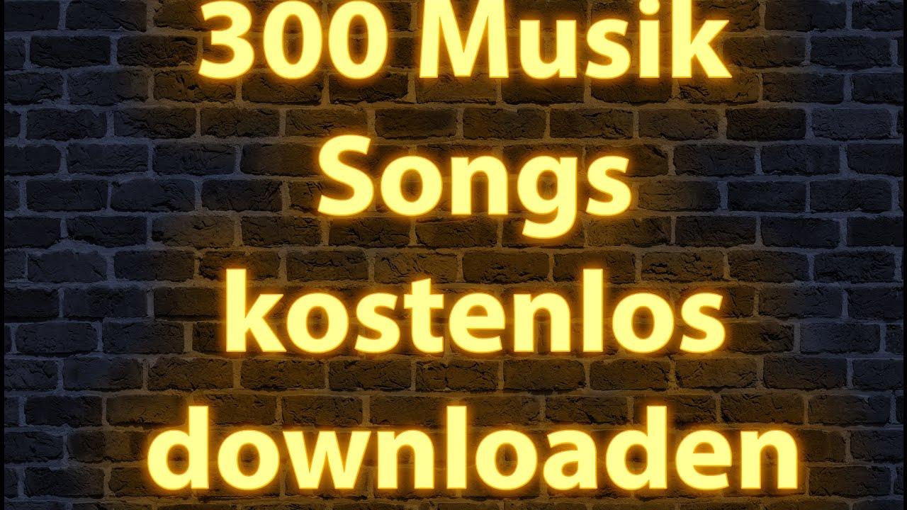 300 Musik Songs kostenlos downloaden legal ohne Anmeldung