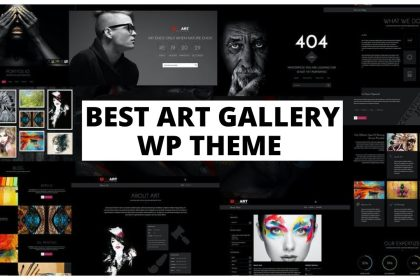 Best Wordpress Theme for Art Gallery & Museum | How to create an Artist Website with Wordpress