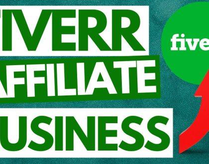 FIVERR AFFILIATE Business starten + die BESTEN Wege die ersten Einnahmen zu erzielen