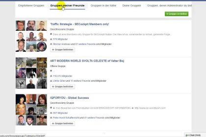Gratis Werbung - einfacher geht´s nicht - facebook Gruppen - kostenlos werben