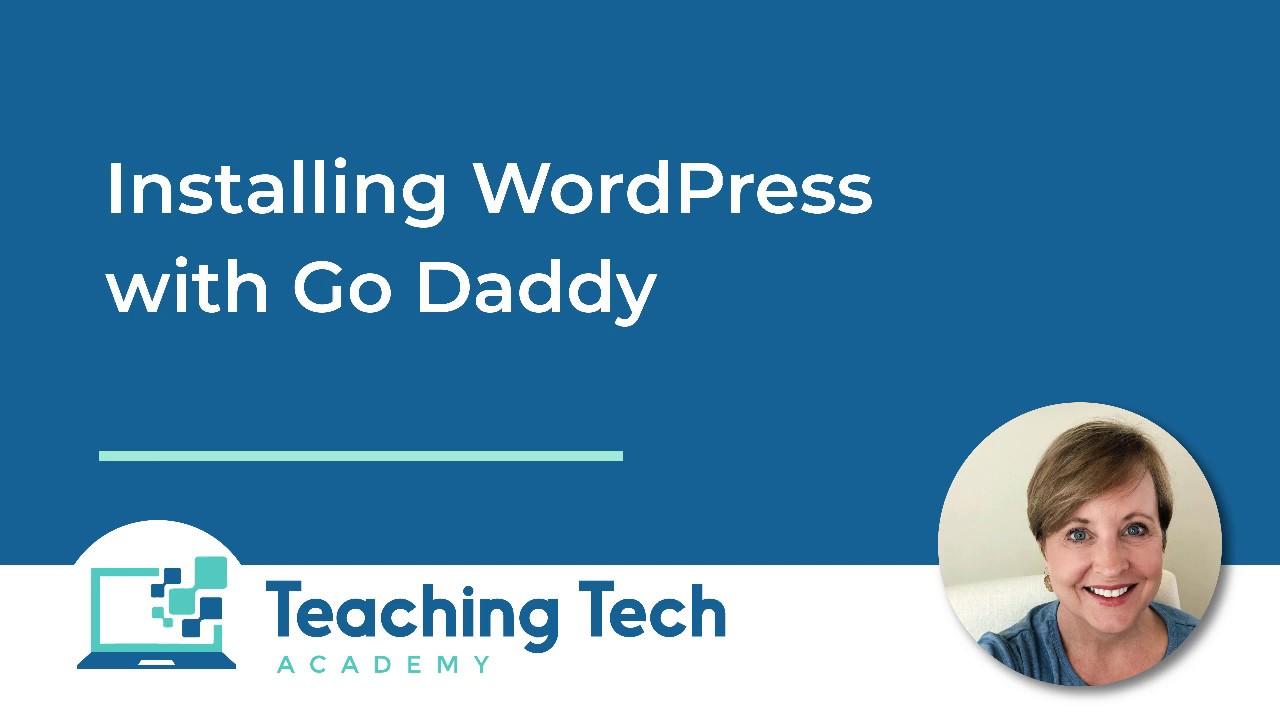 How to Install WordPress with GoDaddy Hosting #wordpress #godaddy #hosting