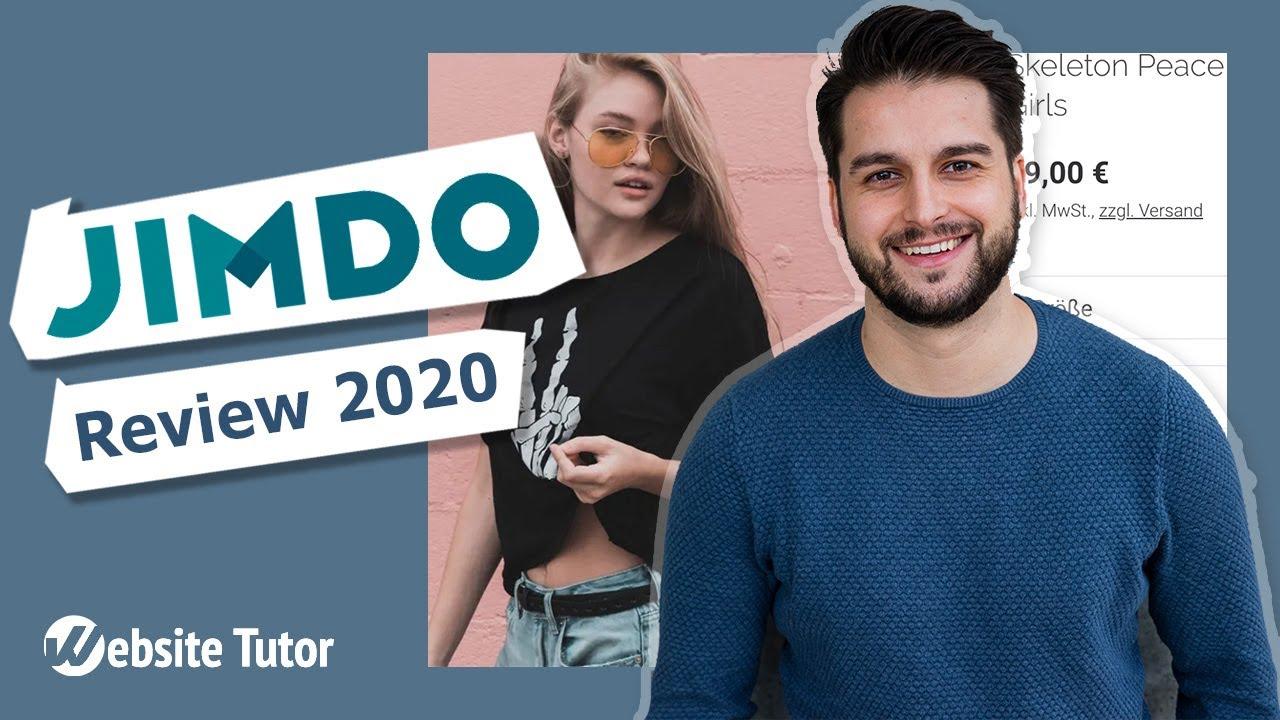 Jimdo im Test: Website & Onlineshop erstellen mit Jimdo
