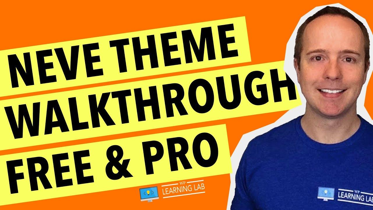 Neve WordPress Theme 2020 - Neve Free vs Pro Features Walkthrough