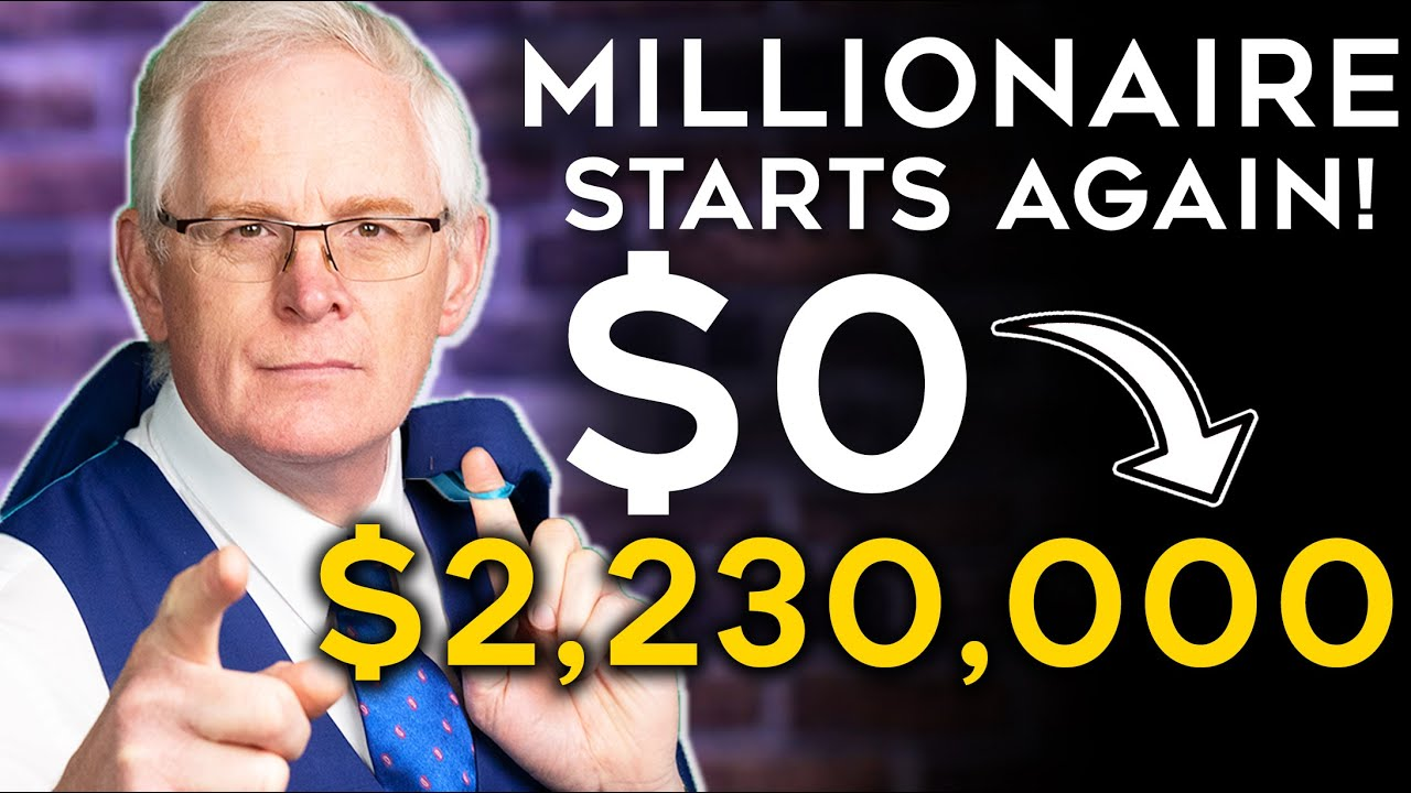 Passive income Plan: Millionaire Starts Again from Scratch! (NO MONEY)