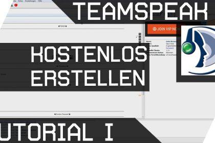 Teamspeak Server erstellen Kostenlos Tutorial 1 [Übersicht Projekt] Deutsch [GER HD]
