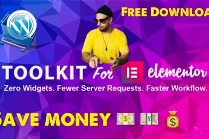 Toolkit 1.3.6 For Elementor   Wordpress Best Plugin  fully activated licensed 2021 Free Download