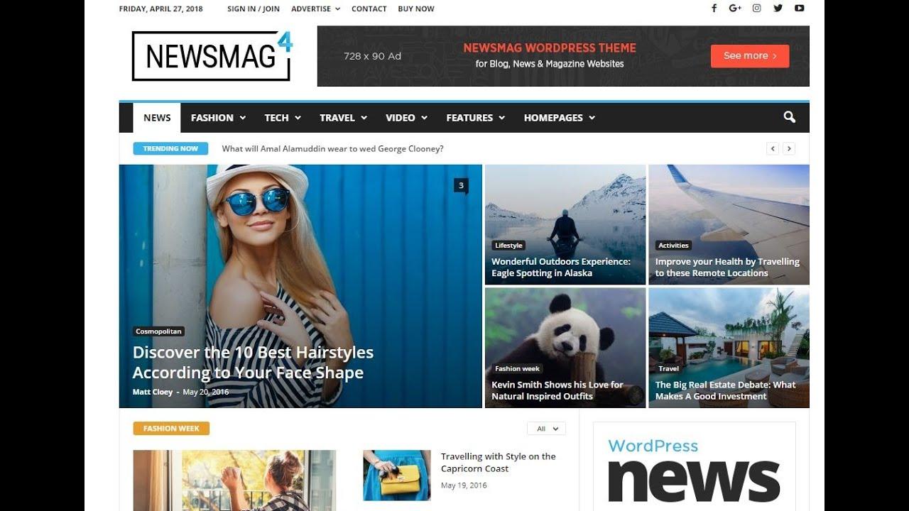 Top 10 Best Newspaper WordPress Themes 2020 - Magazine & Journal WP Themes