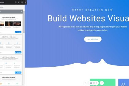 WP Page Builder | WordPress Page Builder Tutorial |  Install & Configure Part 1