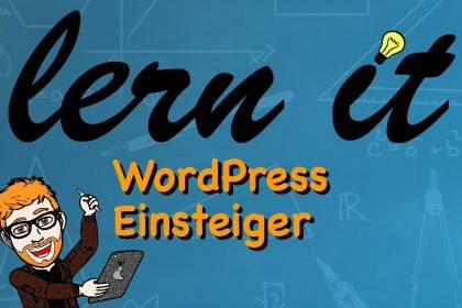 WordPress: Einsteiger - Tutorial