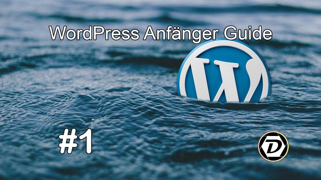 WordPress Tutorial - #1 Der Login und das Dashboard *2020*