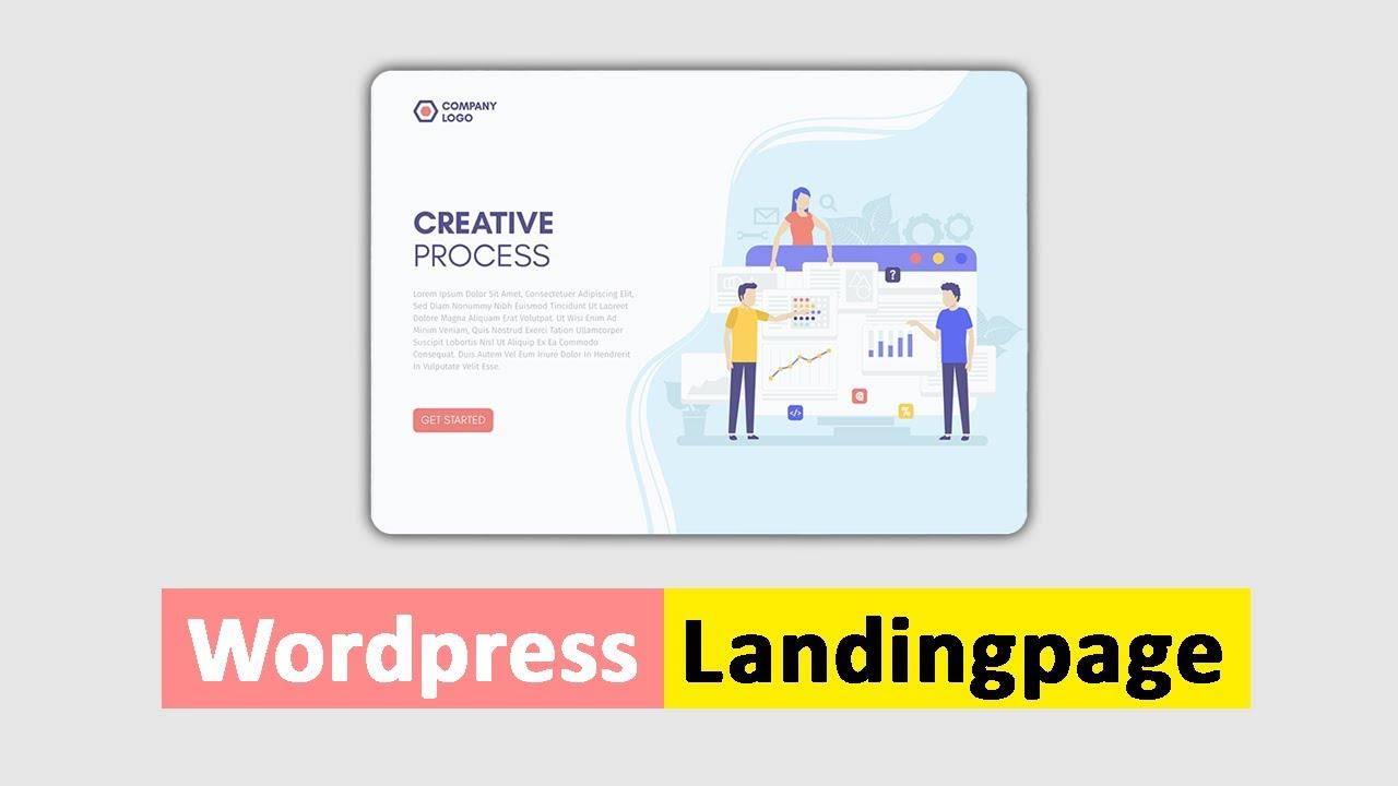 Wordpress Landingpage erstellen [Elementor Page Builder]