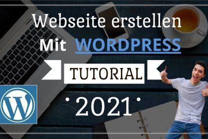 Wordpress Webseite erstellen mit Hosttech - TUTORIAL - Schritt für Schritt einfach erklärt (Deutsch)